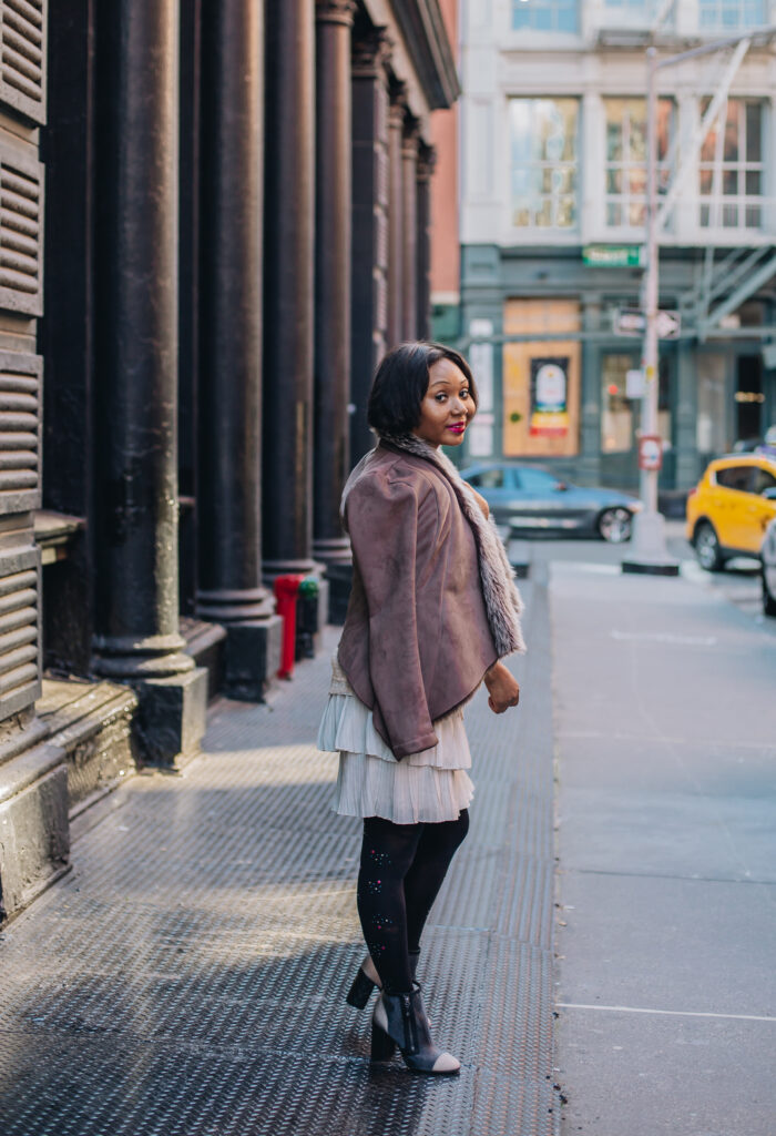 bcbg jacket-lord and taylor-nfl-black blogger-brooklyn-blogger-how to wear color